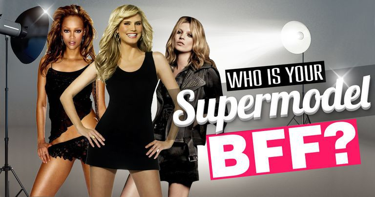 Who Is Your Supermodel BFF?